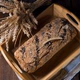 Pão caseiro fotografia de stock