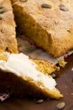 Pão caseiro da abóbora Imagem de Stock Royalty Free