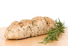 Pão caseiro do Wholewheat com rosemary Foto de Stock Royalty Free