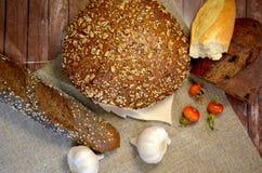 Pão com alho Imagem de Stock Royalty Free