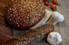 Pão com alho Fotografia de Stock Royalty Free
