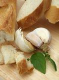Pão com alho Imagem de Stock