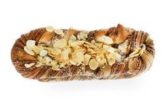 Pão com almon Imagens de Stock