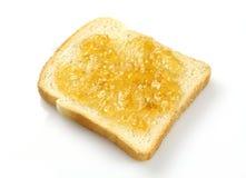 Pão com atolamento Imagem de Stock