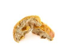 Pão com cheeze raspado Imagens de Stock
