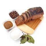 Pão com especiarias fotografia de stock royalty free