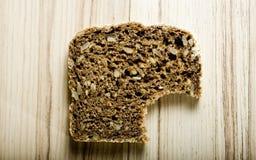 Pão com mordida Fotos de Stock