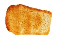 Pão com o brinde, isolado Imagens de Stock