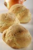 Pão com onions_1 Imagens de Stock Royalty Free