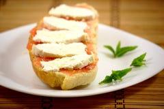 Pão com queijo foto de stock royalty free