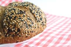 Pão com sésamo Imagem de Stock Royalty Free