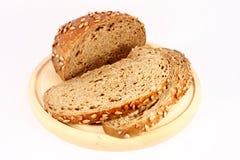 Pão com sementes de girassol Imagens de Stock