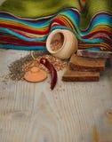 Pão com trigo mourisco Imagem de Stock Royalty Free
