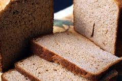 Pão cortado Imagens de Stock Royalty Free