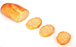 Pão cortado Imagens de Stock