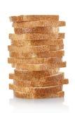 Pão cortado imagem de stock