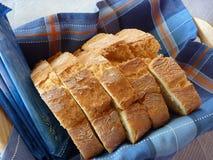 Pão cortado Fotos de Stock Royalty Free