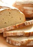 Pão cortado caseiro Fotos de Stock
