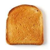 Pão cortado do brinde Fotografia de Stock