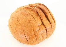 Pão cortado isolado Fotografia de Stock
