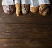Pão cozido fresco Fotografia de Stock