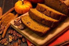 Pão da abóbora Imagem de Stock