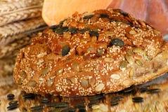 Pão da abóbora Fotografia de Stock