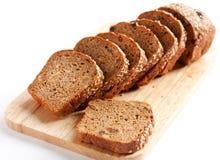 Pão da farinha de trigo, pão inteiro da grão Imagens de Stock Royalty Free