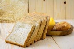 Pão da fatia imagem de stock