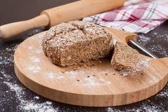 Pão da grão secional Fotografia de Stock