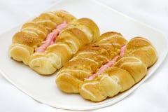Pão da morango Imagens de Stock Royalty Free