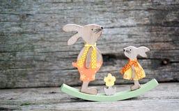Pão da Páscoa e ovos da páscoa, festival da Páscoa, decoração em dias da Páscoa Fotografia de Stock