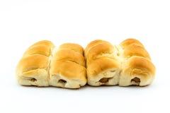 Pão da salsicha Foto de Stock