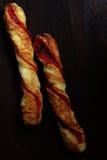 Pão da torção Foto de Stock Royalty Free