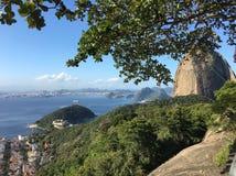 Pão de Açúcar. Rio de Janeiro view from sugar loaf stock photography