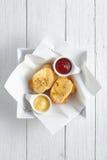 Pão de alho Fotos de Stock Royalty Free