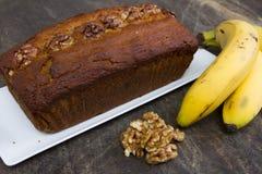 Pão de banana fotos de stock