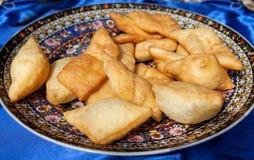Pão de Baursak Imagem de Stock Royalty Free