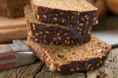 Pão de Brown imagem de stock