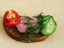 Pão de centeio do sanduíche Fotografia de Stock