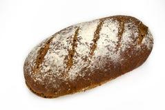 Pão de centeio do Sourdough em um fundo branco Fotografia de Stock Royalty Free