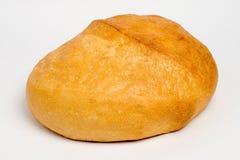 Pão de centeio saboroso, no branco Imagens de Stock