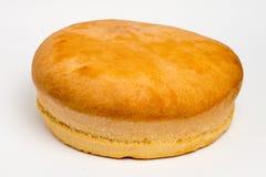 Pão de centeio saboroso, no branco Imagem de Stock