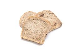 Pão de chocolate isolaed no fundo branco fotos de stock