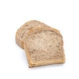 Pão de chocolate isolaed no fundo branco imagens de stock
