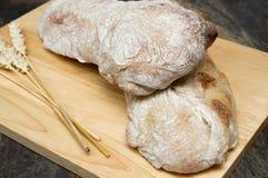 Pão de Ciabatta Imagem de Stock