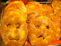 Pão de Dia das Bruxas Fotos de Stock