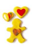 Pão-de-espécie Cooky fotografia de stock