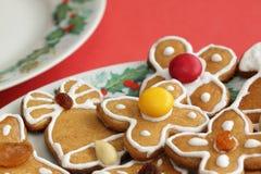 Pão-de-espécie do Natal Fotos de Stock Royalty Free