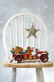Pão-de-espécie do Natal Foto de Stock